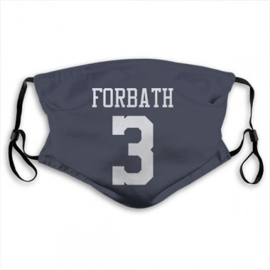 Dallas Cowboys Kai Forbath Jersey Name and Number Face Mask - Navy