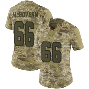 Women's Nike Dallas Cowboys Connor McGovern 2018 Salute to Service Jersey - Camo Limited