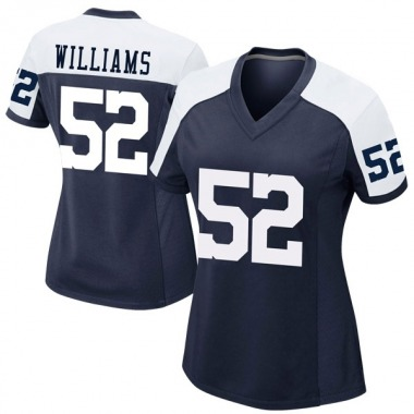 Women's Nike Dallas Cowboys Connor Williams Alternate Jersey - Navy Game
