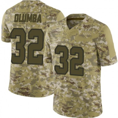 Youth Nike Dallas Cowboys Donovan Olumba 2018 Salute to Service Jersey - Camo Limited