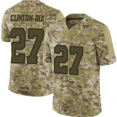 Youth Nike Dallas Cowboys Ha Ha Clinton-Dix 2018 Salute to Service Jersey - Camo Limited